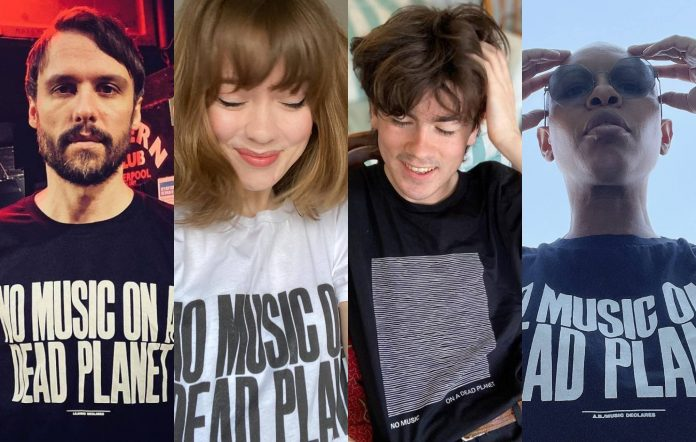 The Cribs, Maisie Peters, Declan McKenna and Skunk Anansie are among the artists supporting No Music On A Dead Planet. Credit: Press