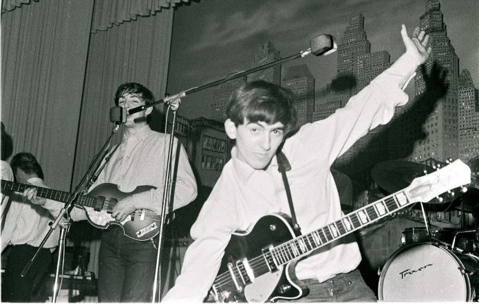 The Beatles Paul McCartney George Harrison Hamburg 1962