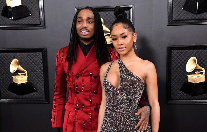 Quavo Saweetie Grammys 2020