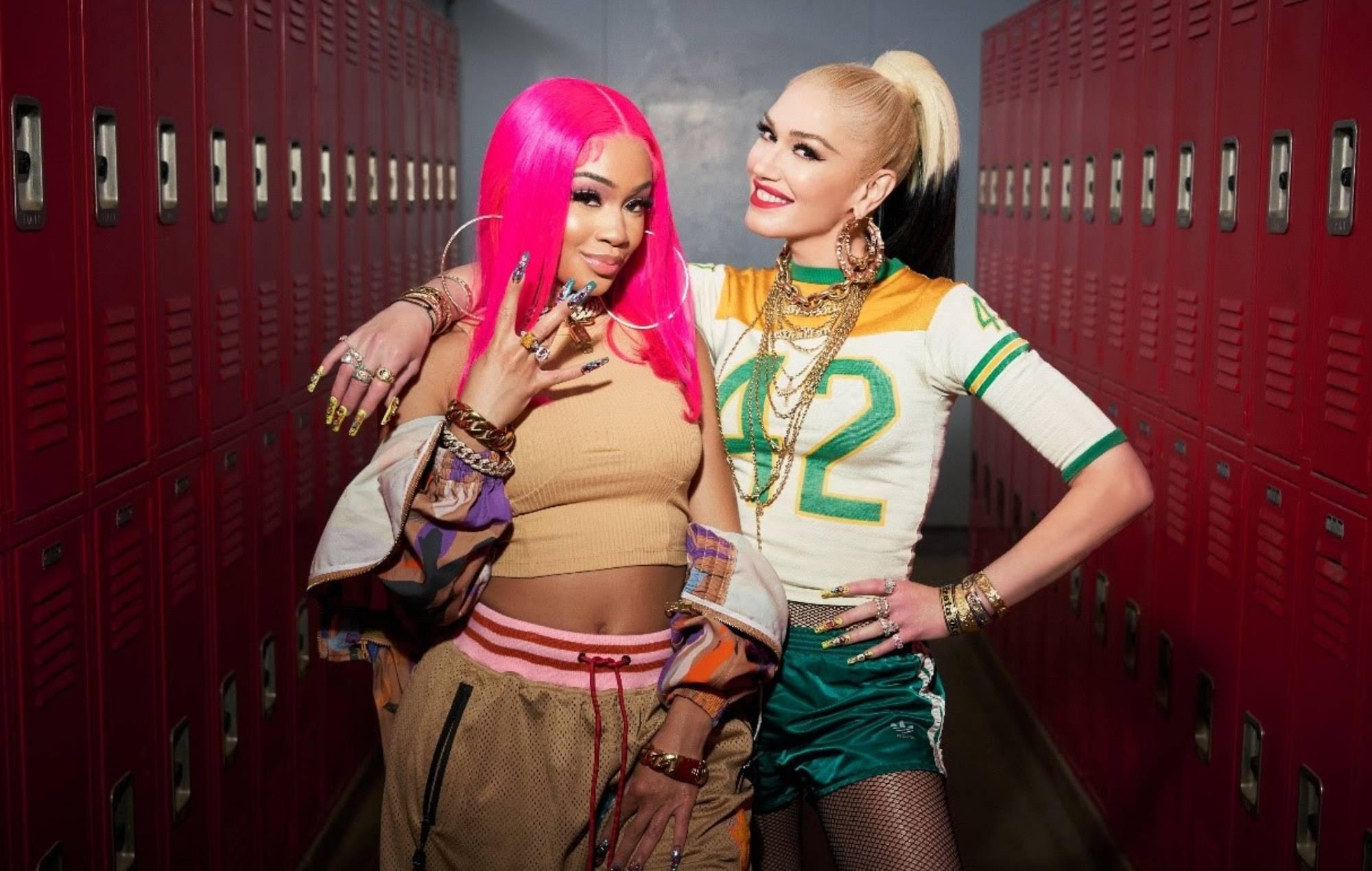 Listen to Gwen Stefani and Saweetie team up on 'Slow Clap'