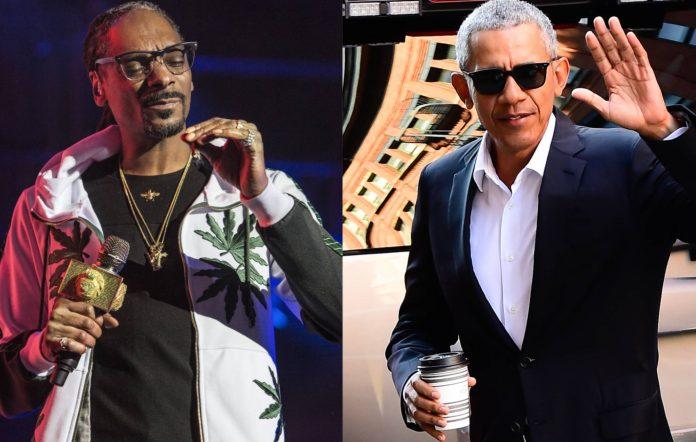 Snoop Dogg and Barack Obama