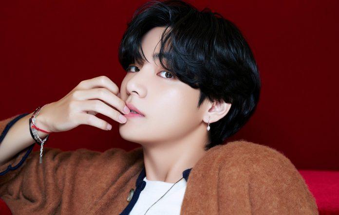 v kim taehyung bts solo song