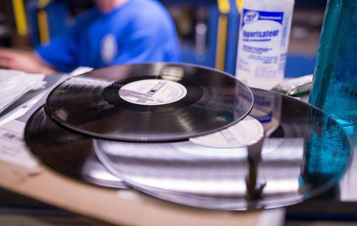 Vinyl pressing plant