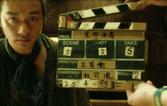 wong kar wai documentary short film deleted footage behind-the-scenes