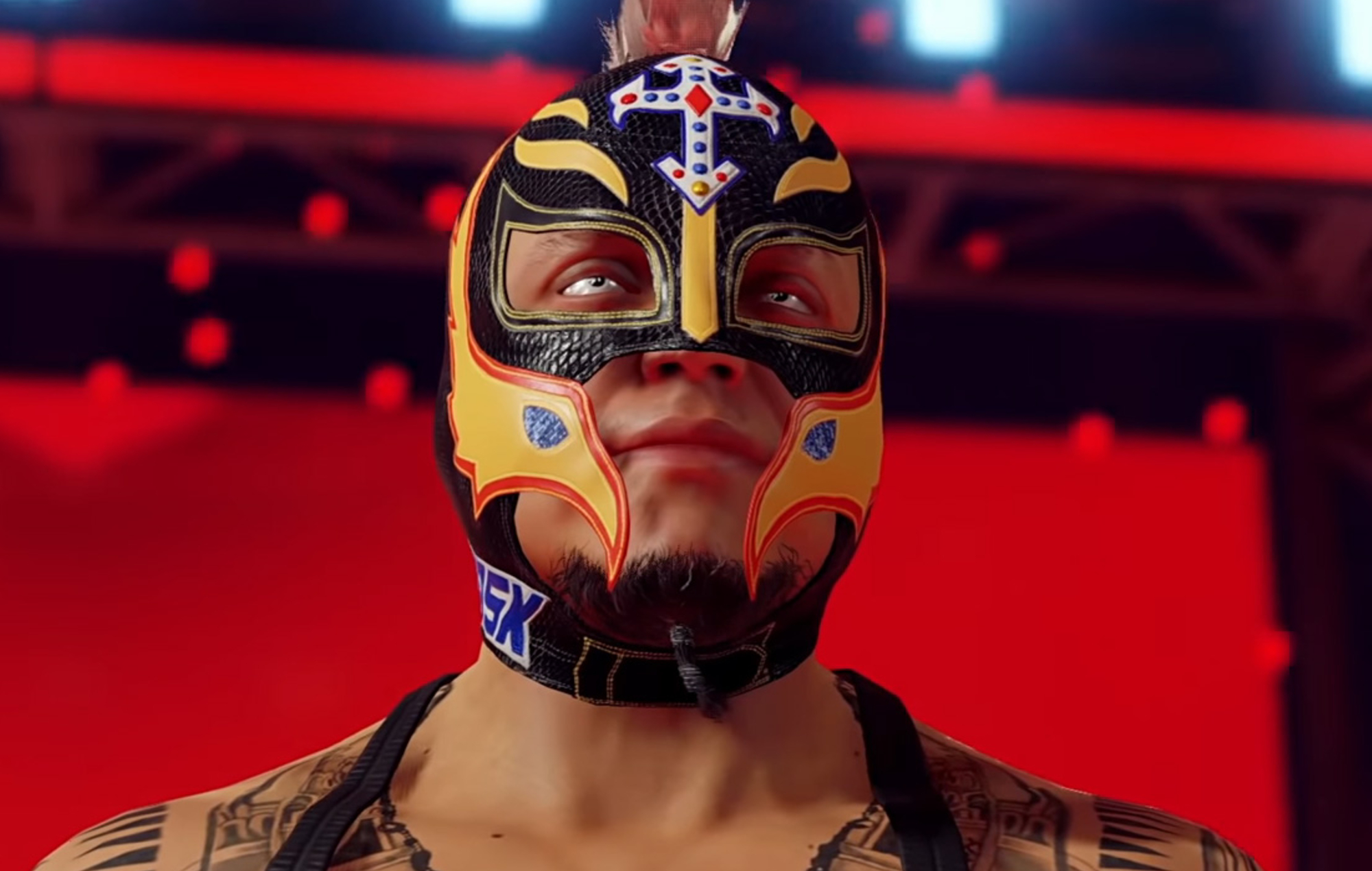 WWE 2K22 Rey Mysterio