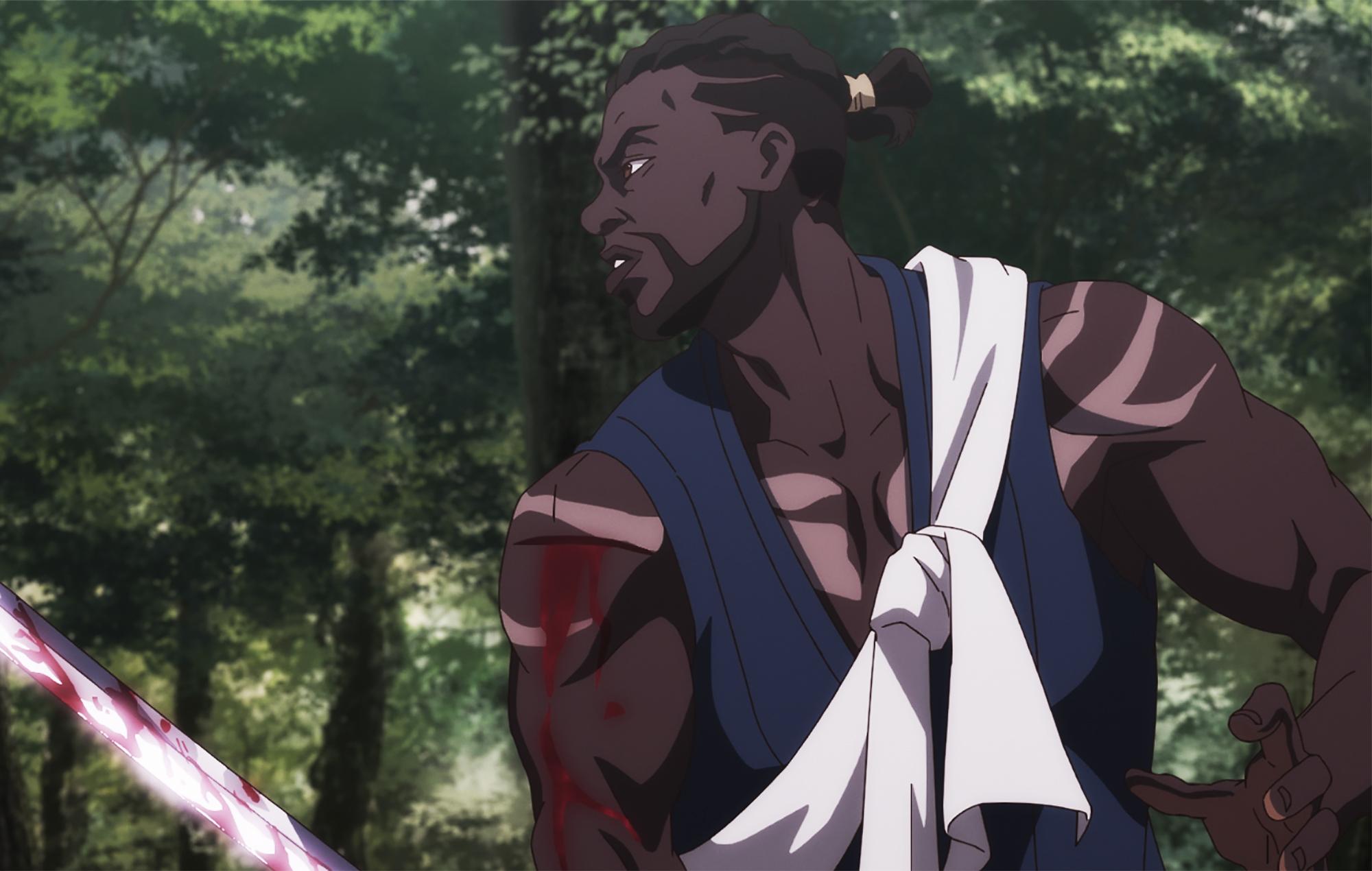 Netflix anime series Yasuke