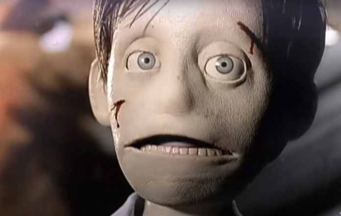 The puppet from Interpol's 'Evil' video