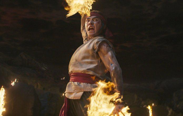 Ludi Lin in 'Mortal Kombat'