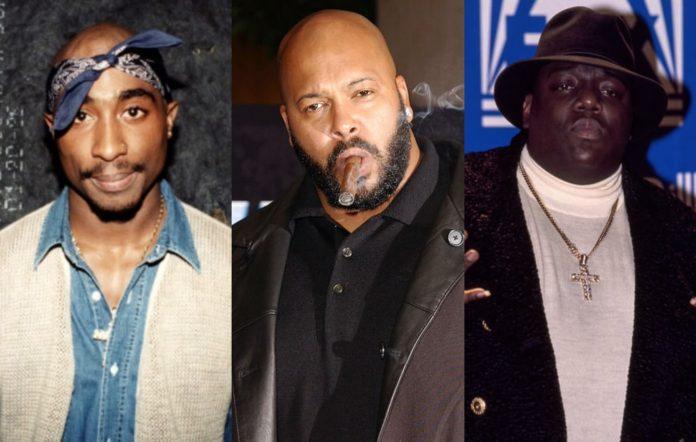 2Pac, Suge Knight and Biggie