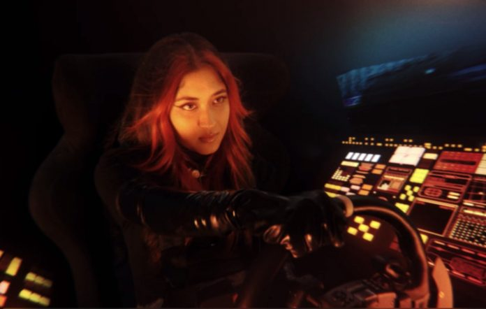 Ashwarya in the 'To the Night' video