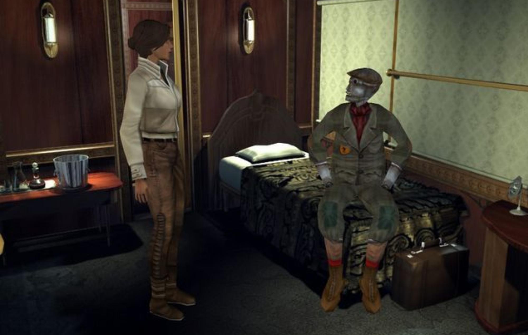 Benoît Sokal Syberia Screenshot