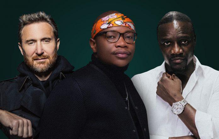 David Guetta, Master KG, Akon