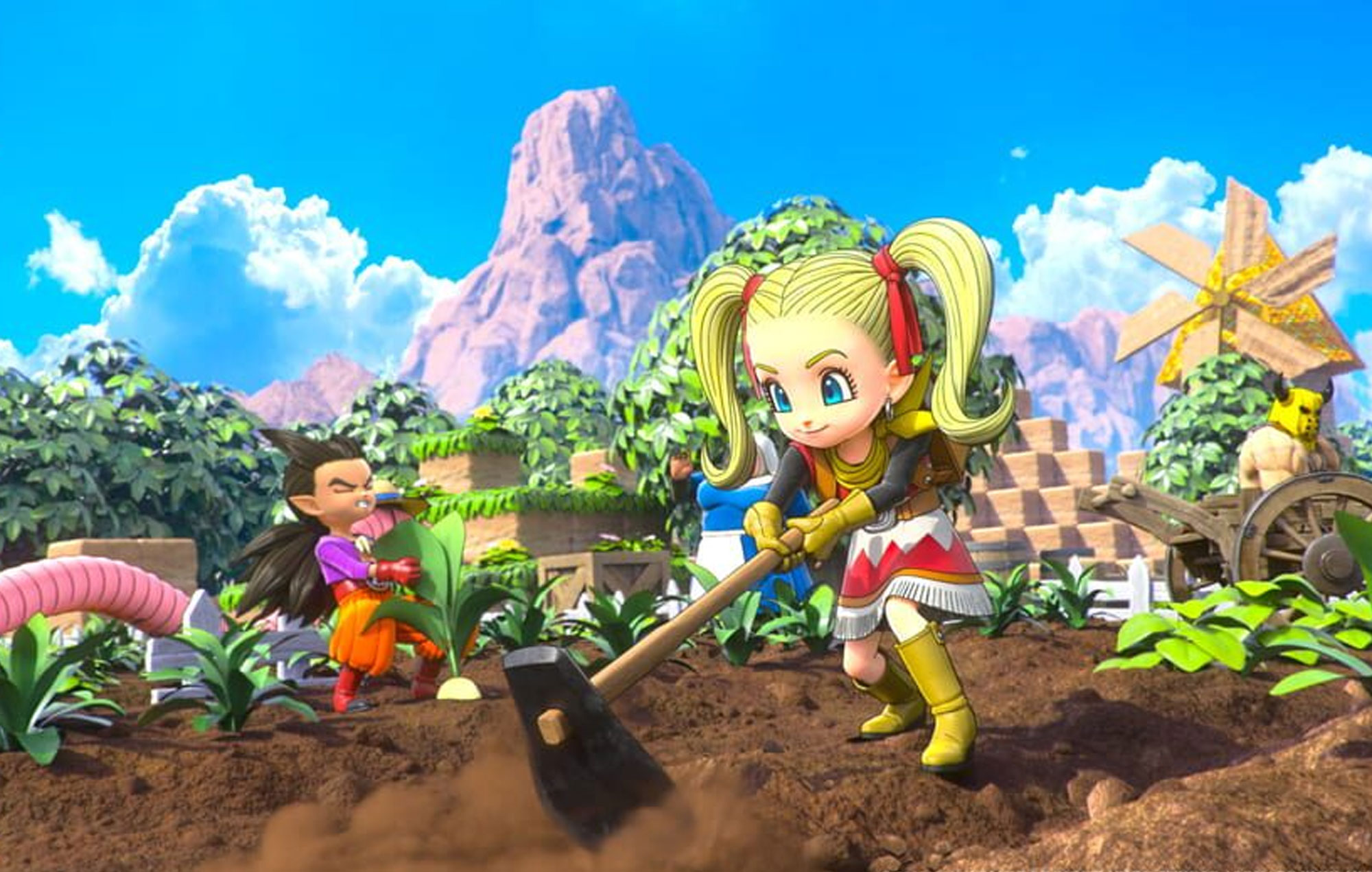 Dragon Quest Builders 2 on Xbox Game Pass