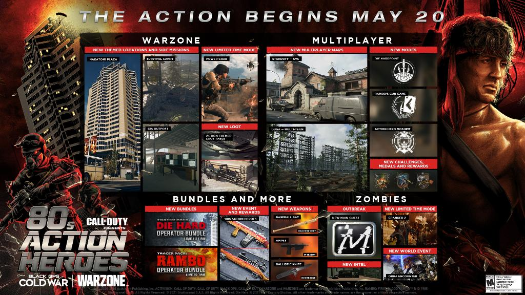 Call of Duty Warzone and Black Ops Cold War