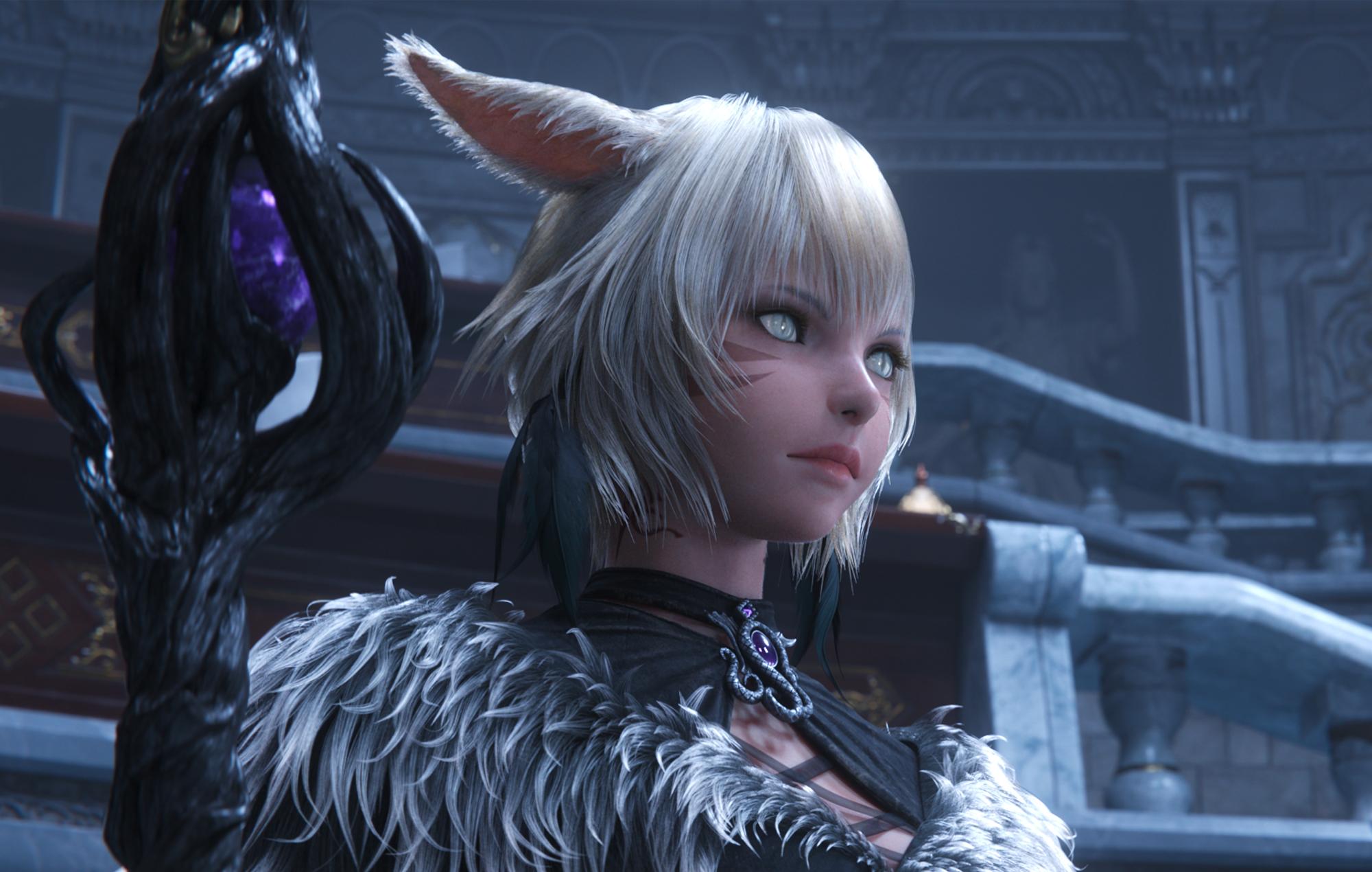 Final Fantasy Xiv Endwalker Gets Extended Trailer Male Viera And More