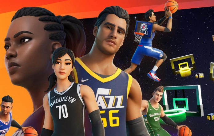 Fortnite X NBA: The Crossover Characters