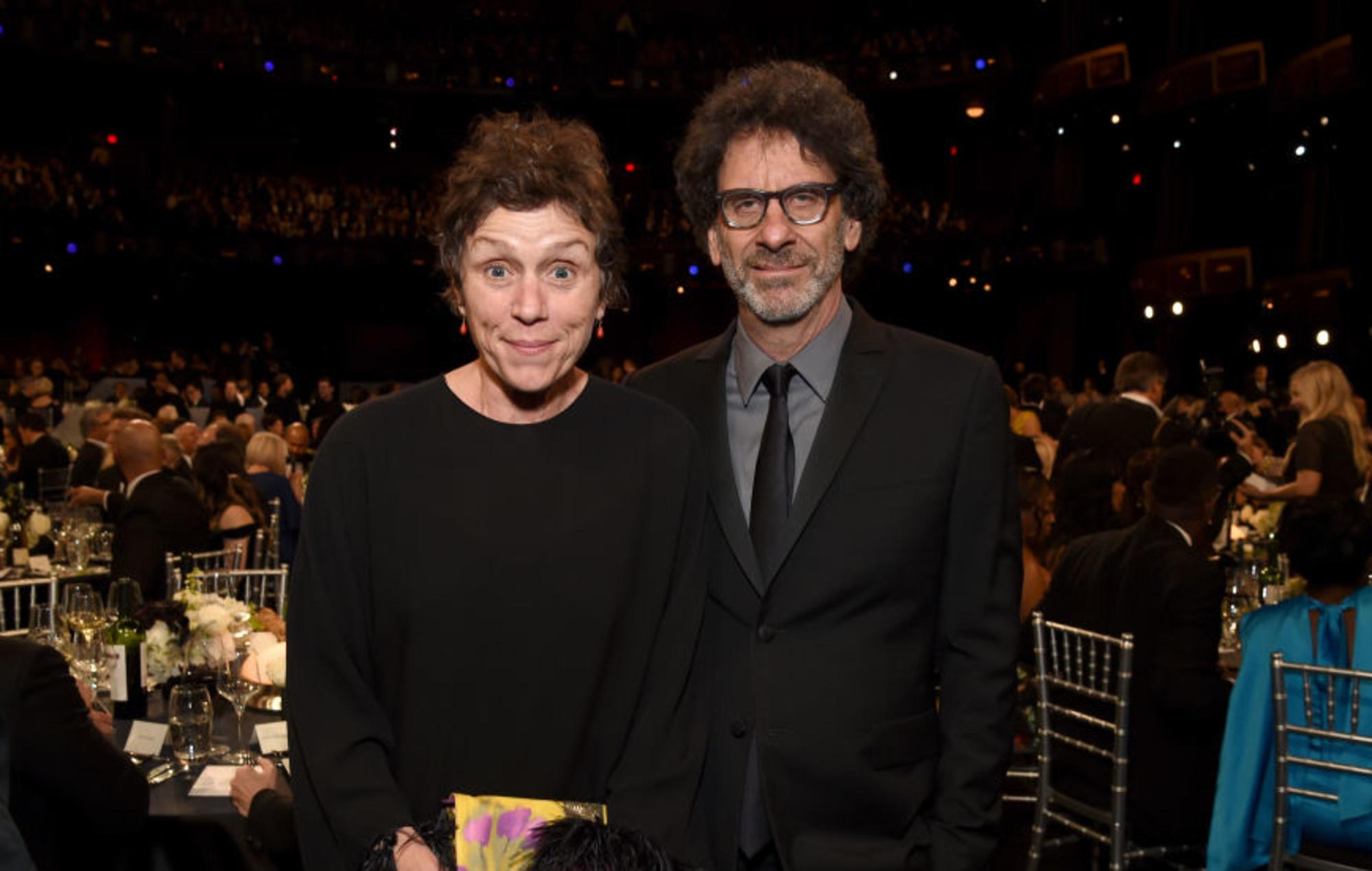 Frances McDormand and Joel Coen