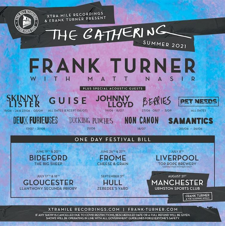 Frank Turner tour