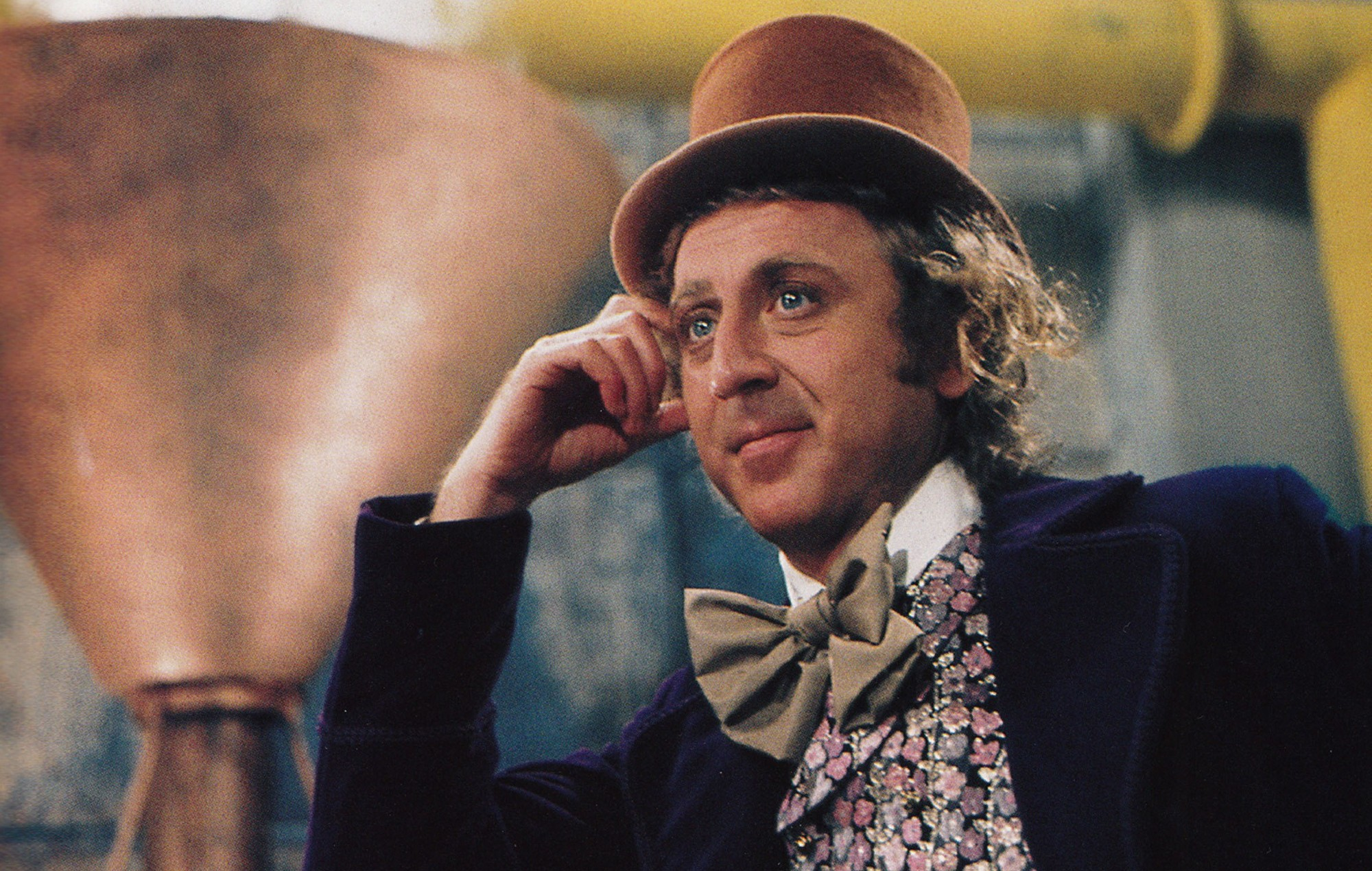 Gene Wilder as Willy Wonka in 'Willy Wonka and the Chocolate Factory'