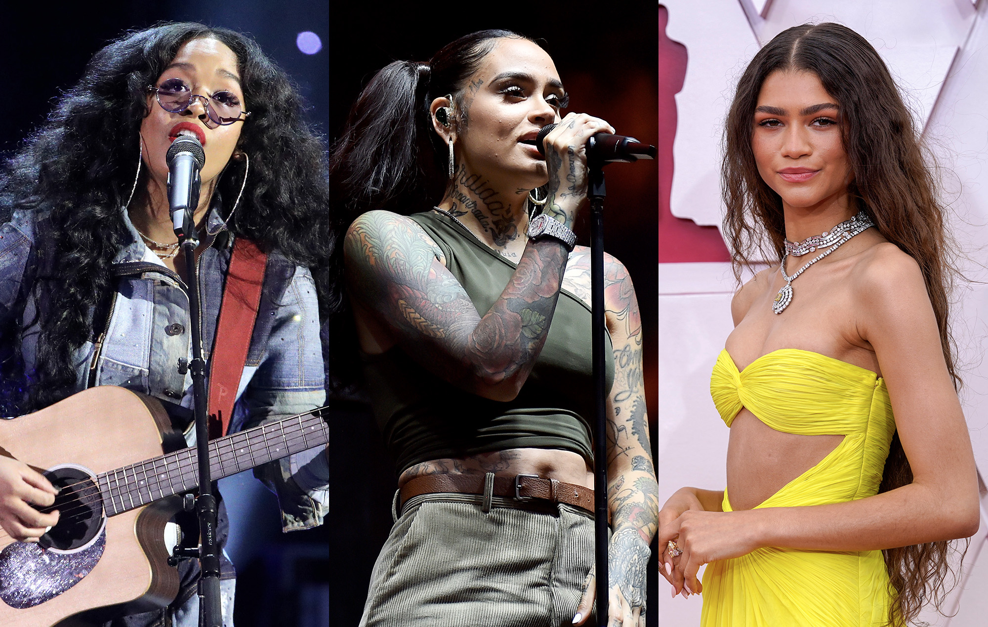 H.E.R. says she was nearly in a band with Kehlani and Zendaya