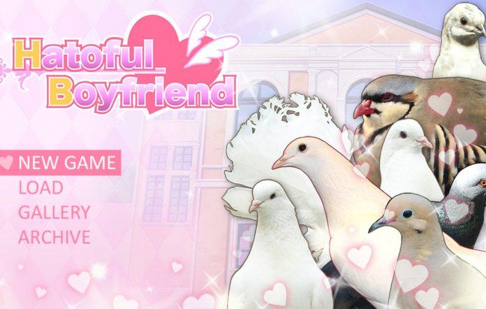 Hatoful Boyfriend Title Screen