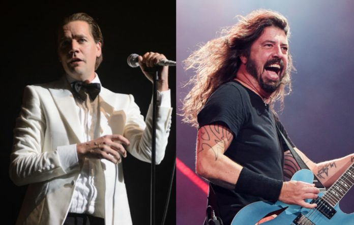 The Hives' Howlin' Pelle Almqvist and Dave Grohl