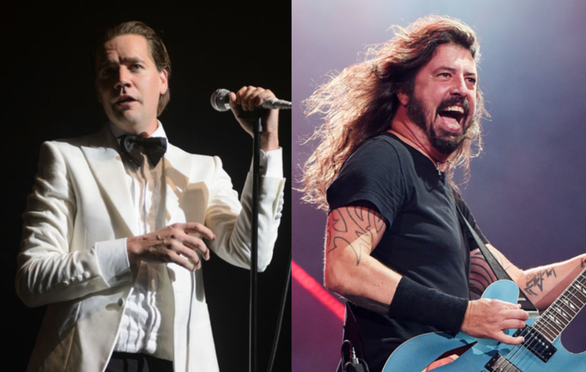The Hives' Pelle Almqvist recalls the time he threw up at Dave Grohl's house on New Year's Eve