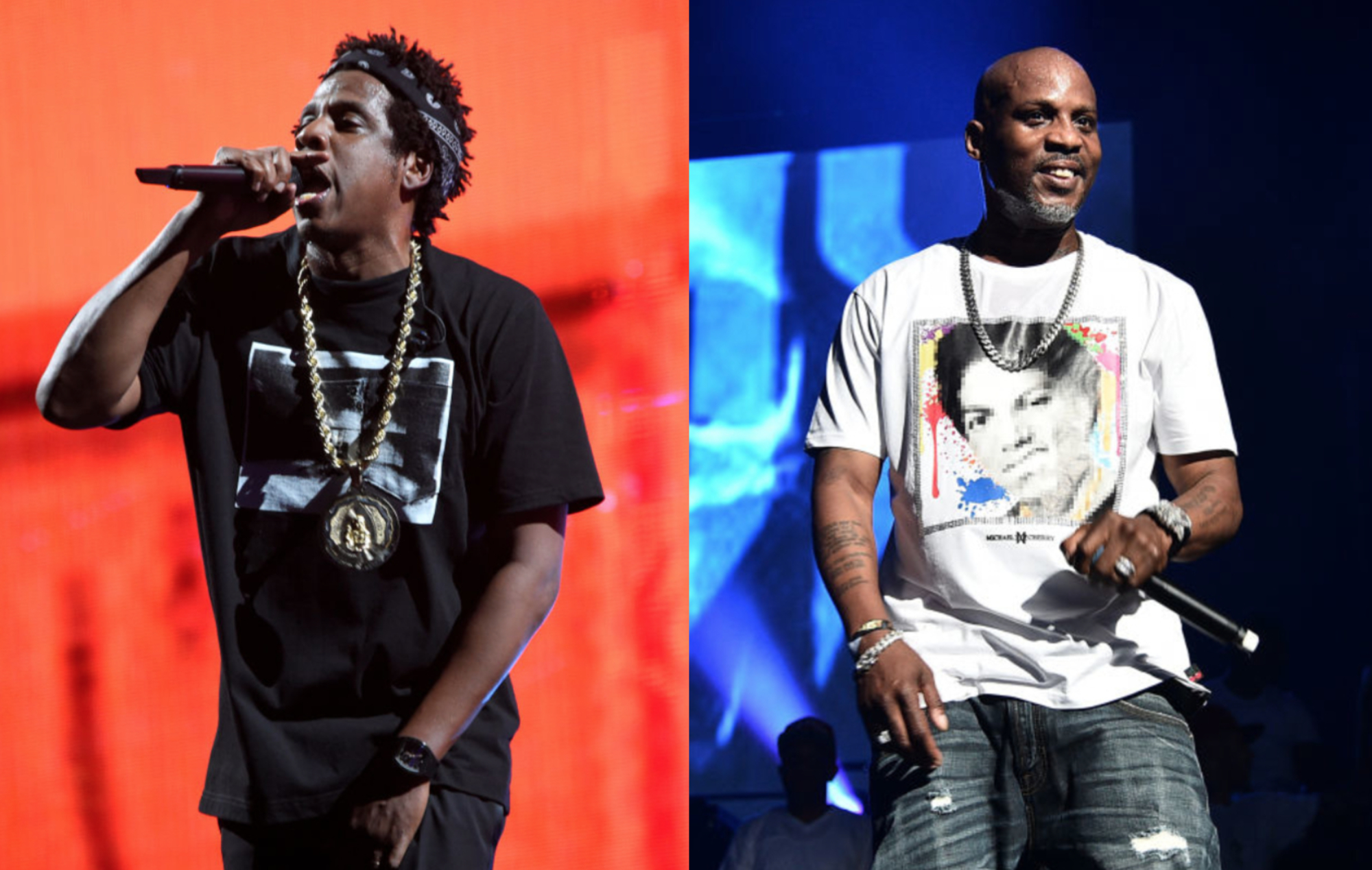 """JAY-Z recalls """"deafening"""" first arena performance with DMX"""