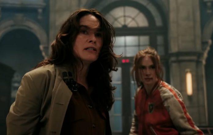Lena Headey and Karen Gillan in 'Gunpowder Milkshake'