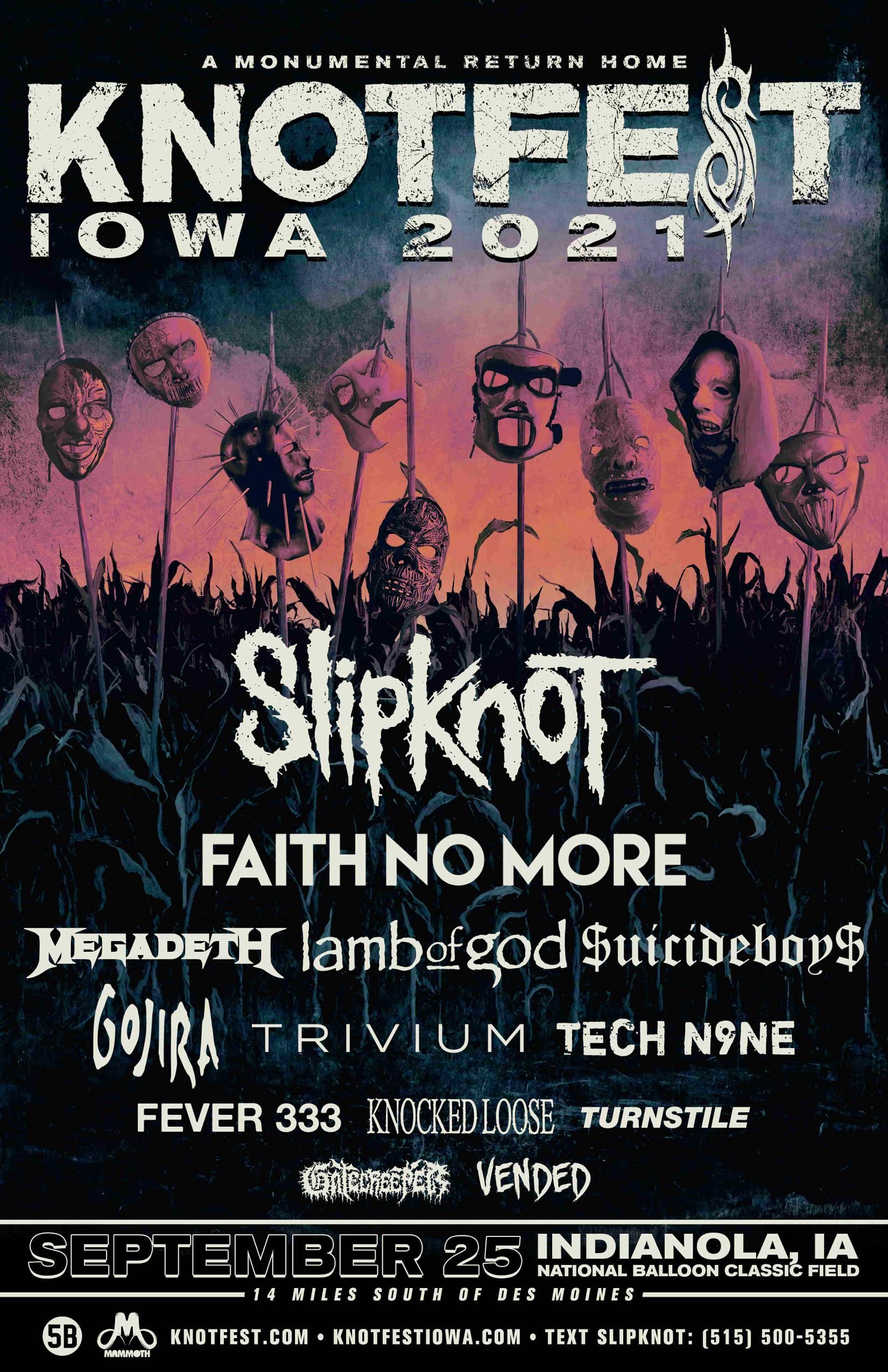 Slipknot - Knotfest Iowa 2021