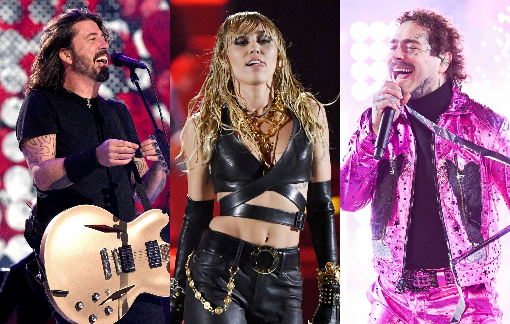 Foo Fighters, Post Malone and Miley Cyrus among acts announced for Lollapalooza Chicago