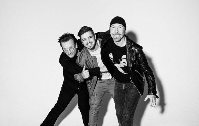 Bono, Martin Garrix and The Edge