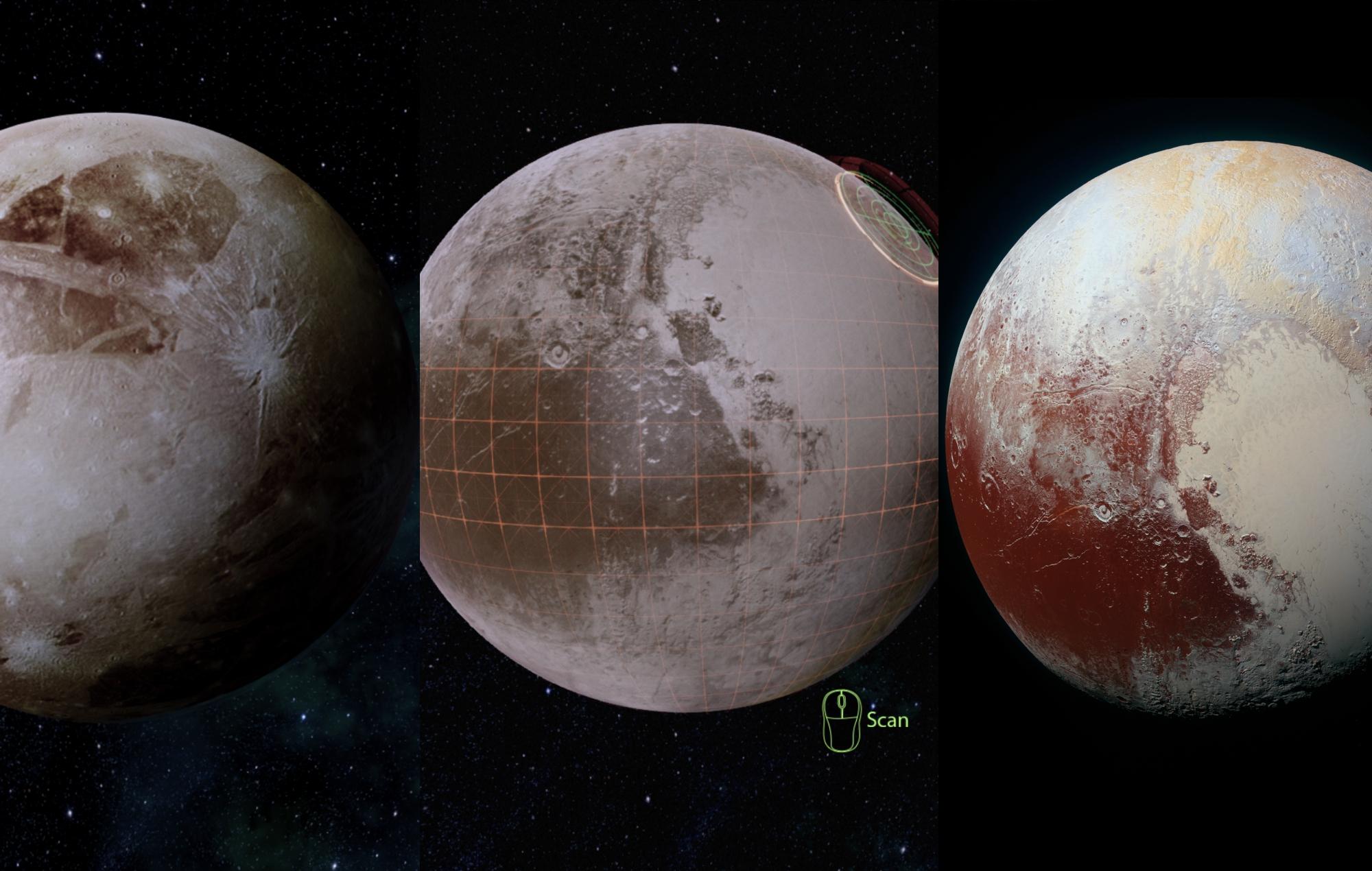 Mass effect legendary edition pluto render new horizons comparison NASA