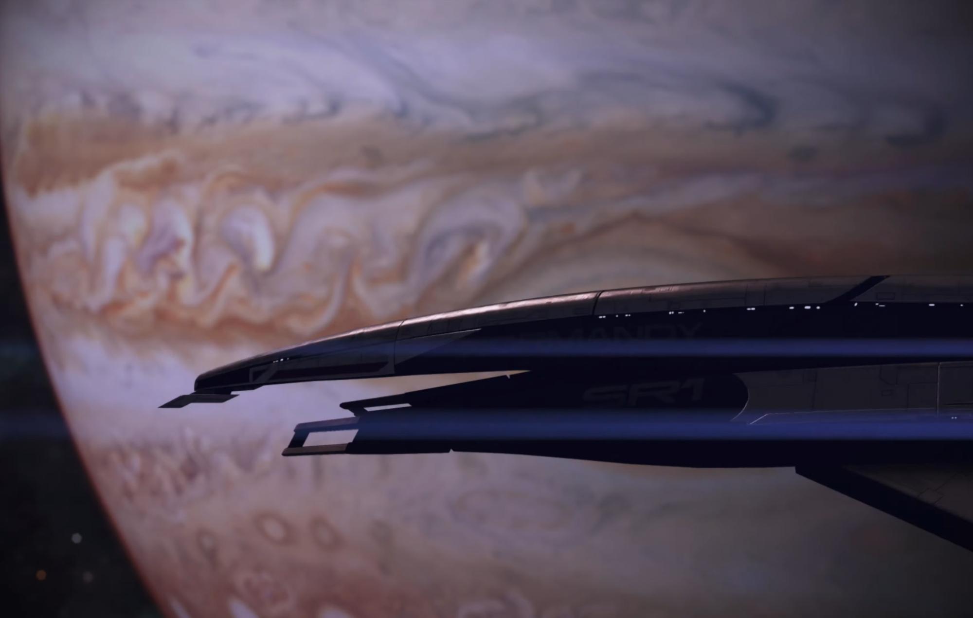 Mass effect legendary edition Jupiter render