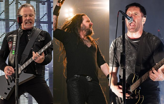 Metallica, Korn, Nine Inch Nails lead lineup for 2021 Louder Than Life Festival