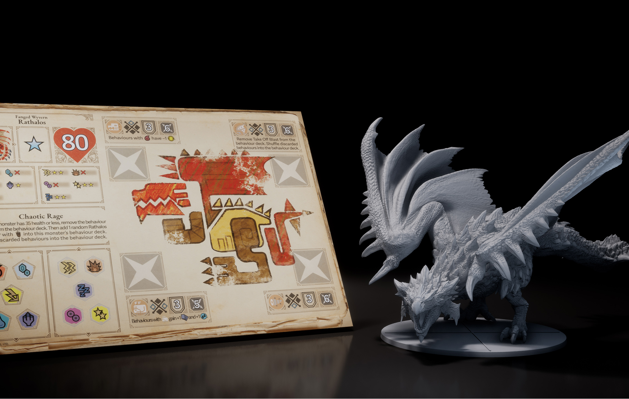 Monster Hunter World Tabletop Game