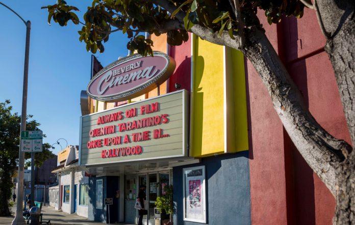 Tarantino New Beverly Cinema