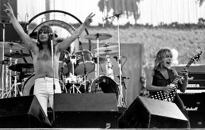 Ozzy Osbourne Randy Rhoads