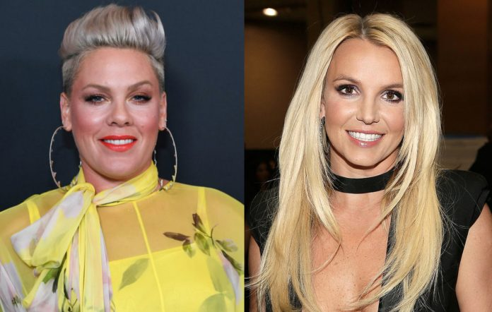Pink and Britney Spears