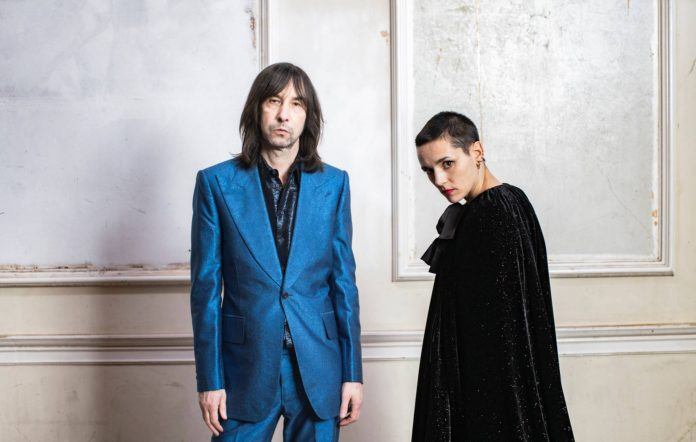Bobby Gillespie and Jehnny Beth