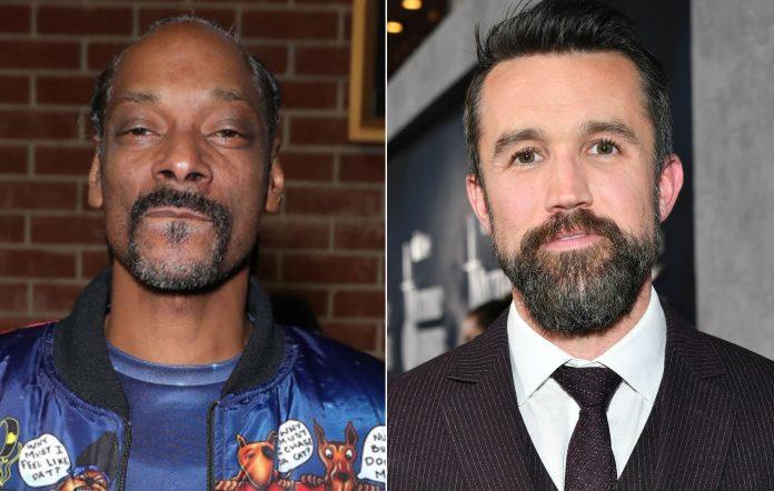 Snoop Dogg and Rob McElhenney