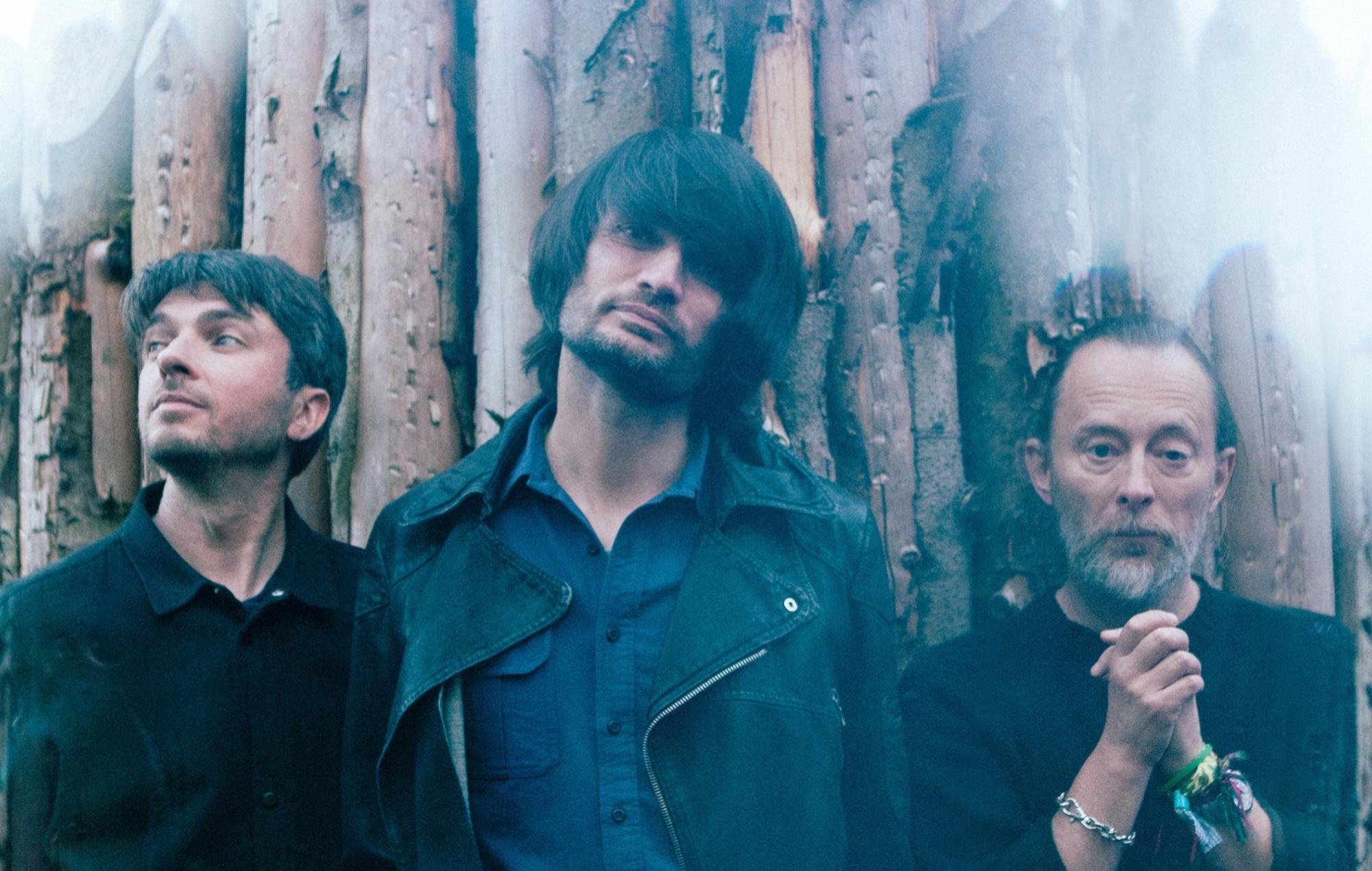 Thom Yorke, Johnny Greenwood and Tom Skinner