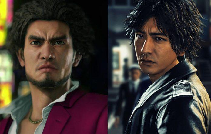 Yakuza & Judgment Characters Ichiban Kasuga and Takayuki Yagami