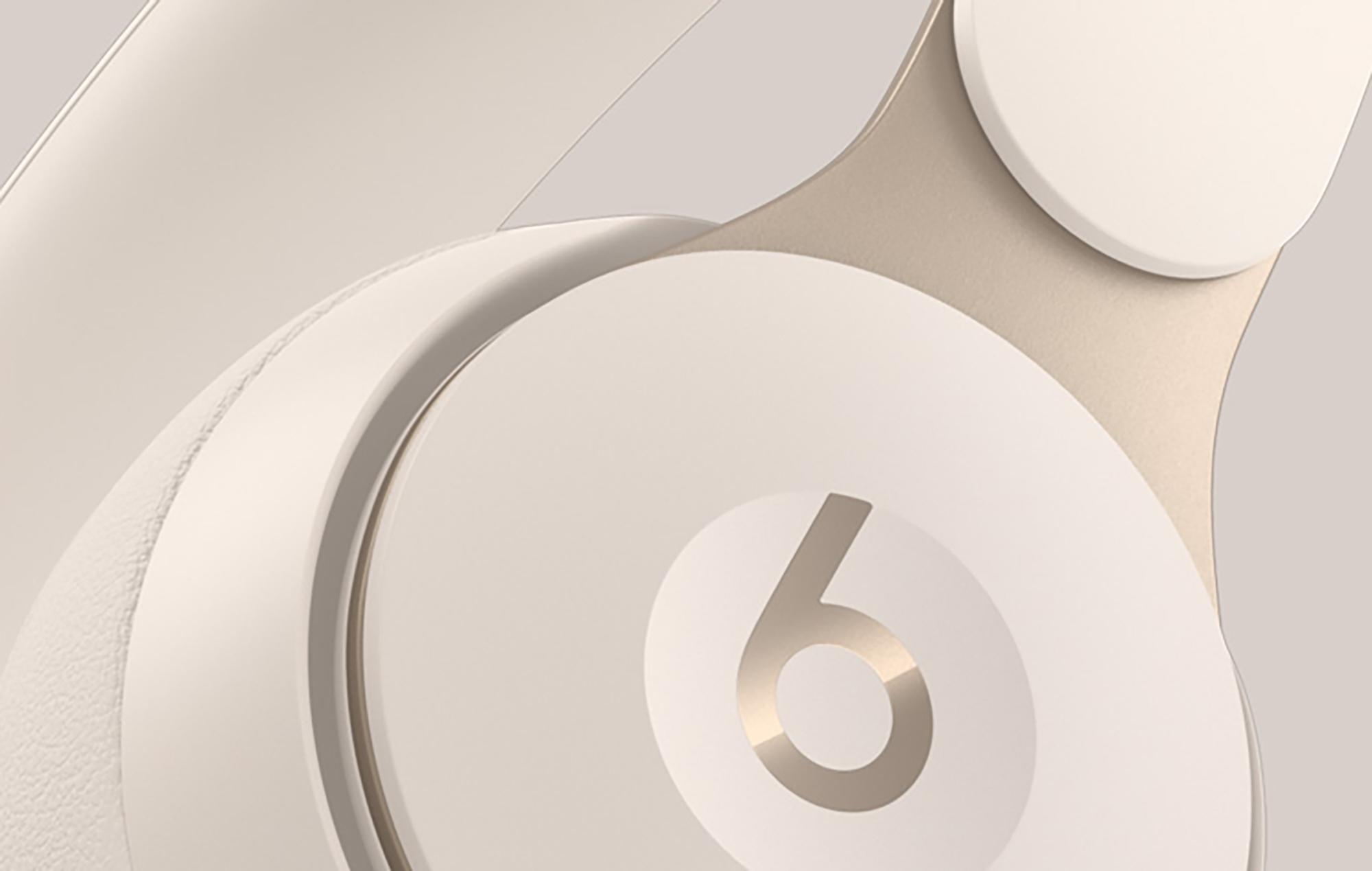 Beats Solo Pro Ivory Closeup