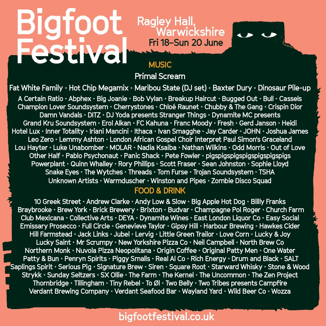 bigfoot line-up 2021