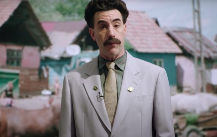 Borat Supplemental Reporting special Amazon Prime Video