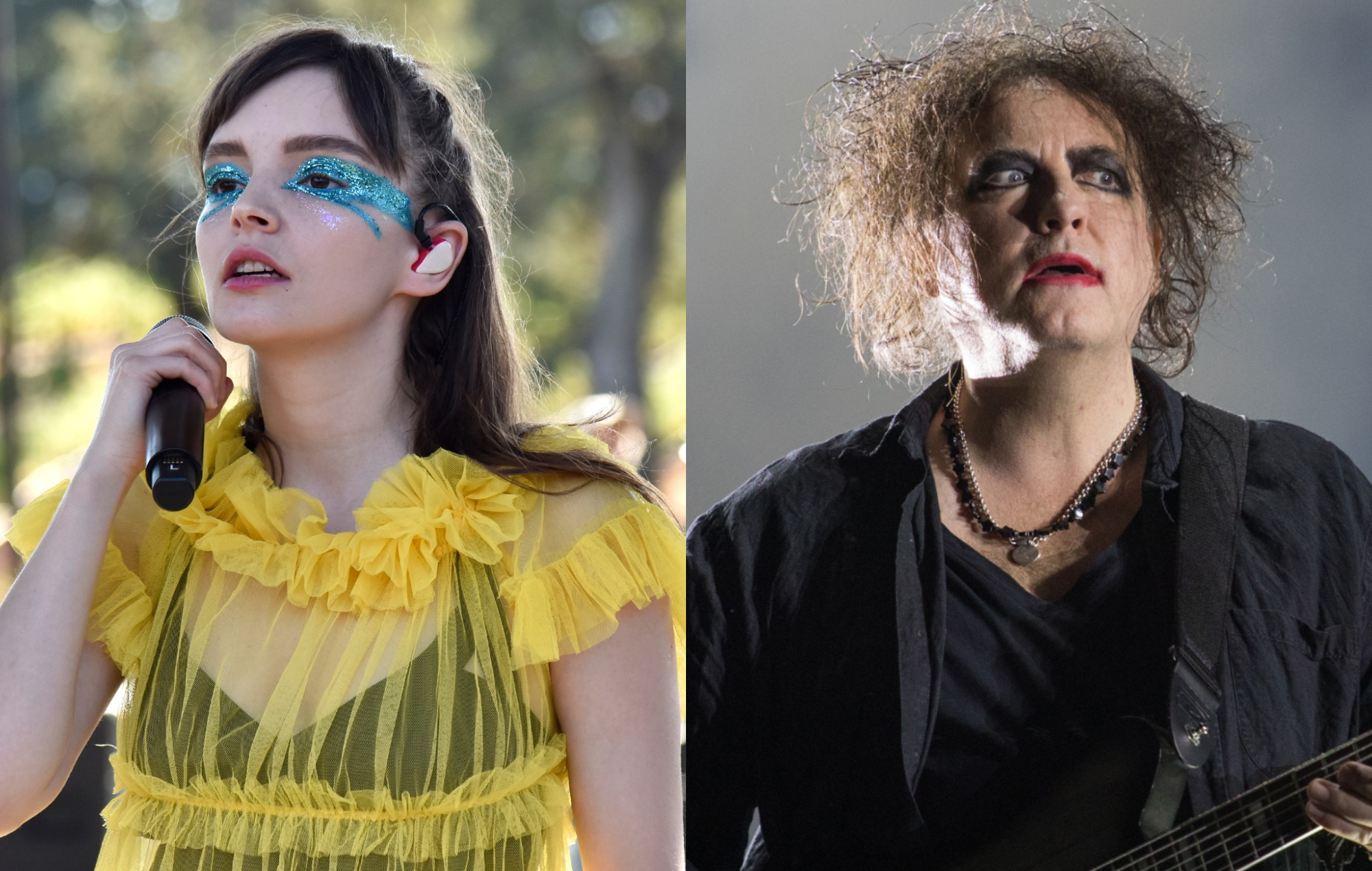 chvrches robert smith the cure new single how not to drown