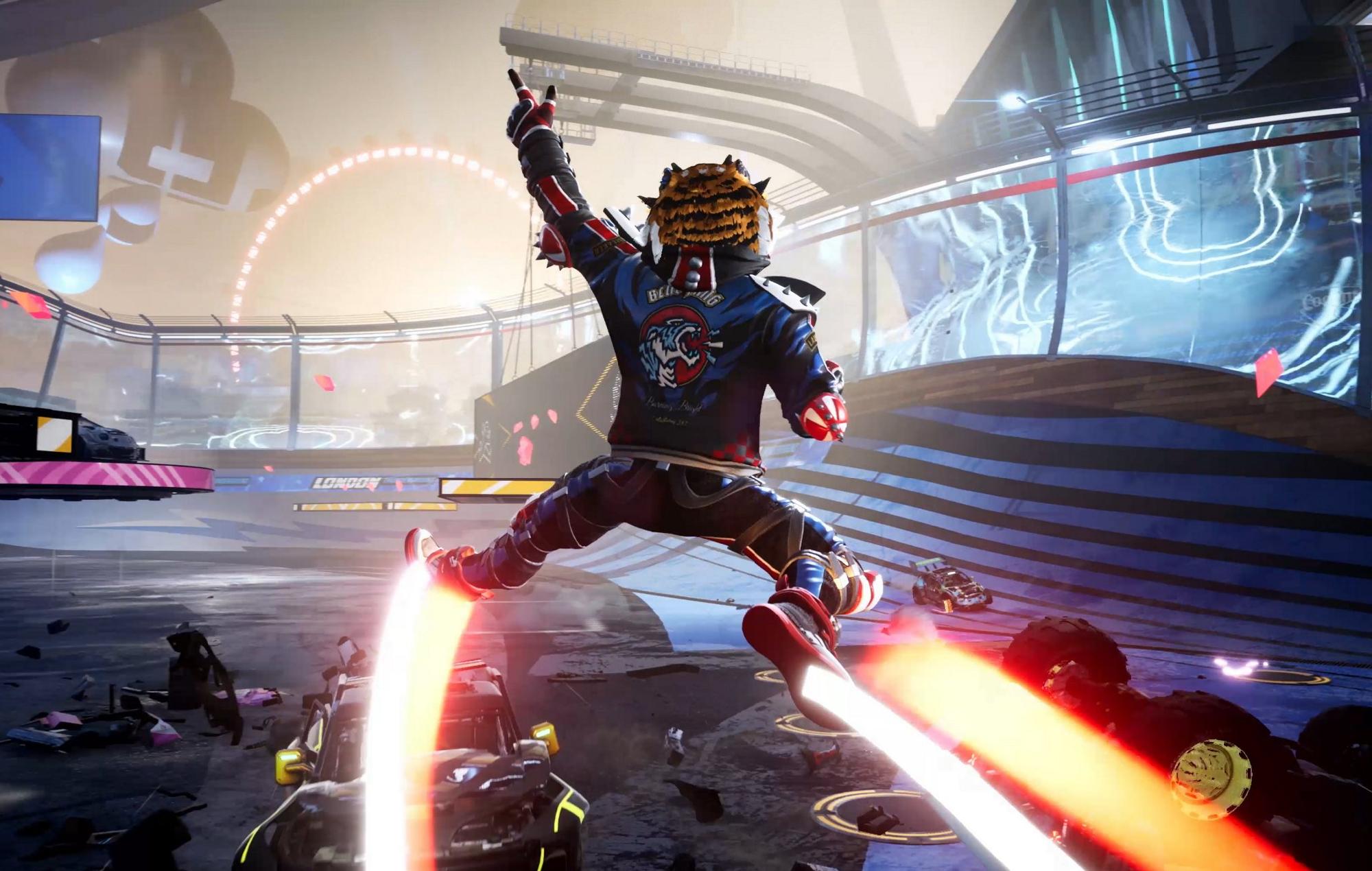 Destruction Allstars Gameplay Screenshot