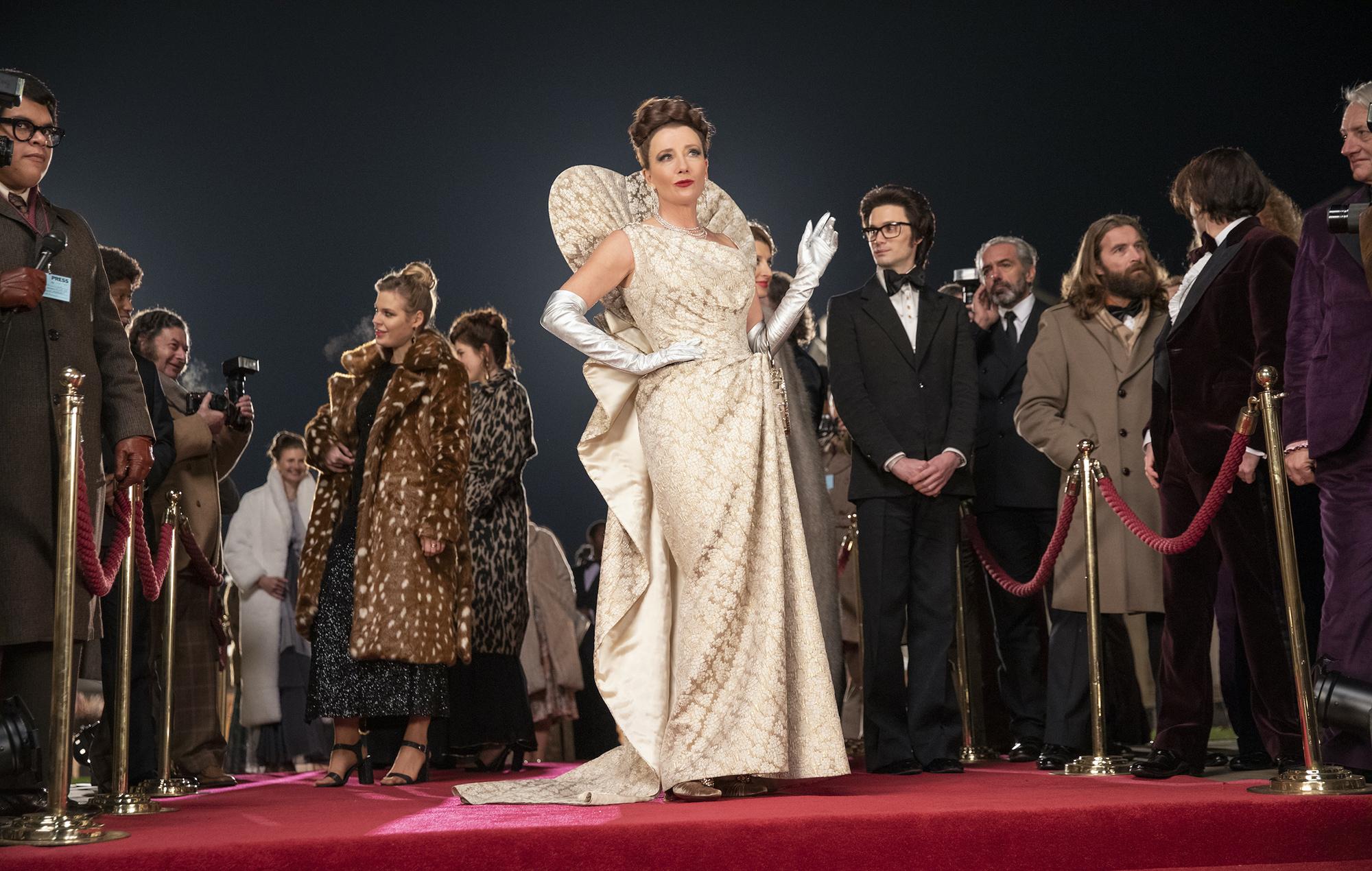 Emma Thompson as Baroness von Hellman in Disney's Cruella
