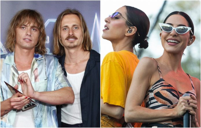 lime cordiale the veronicas state of origin sheppard